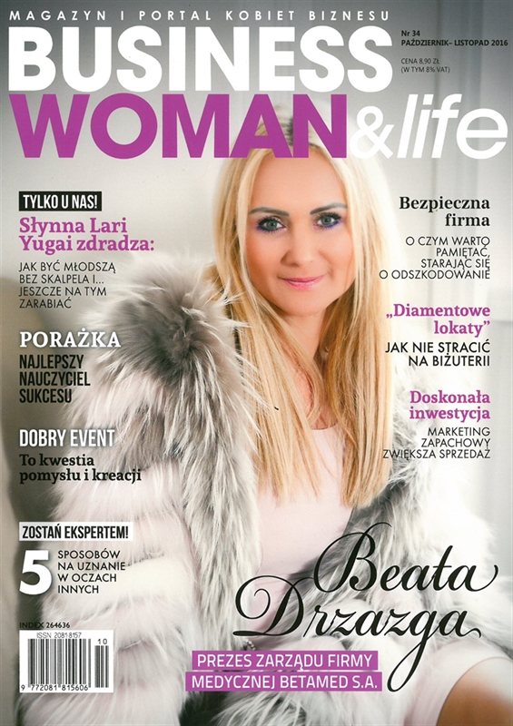 Business Woman&Life - październik, listopad 2016